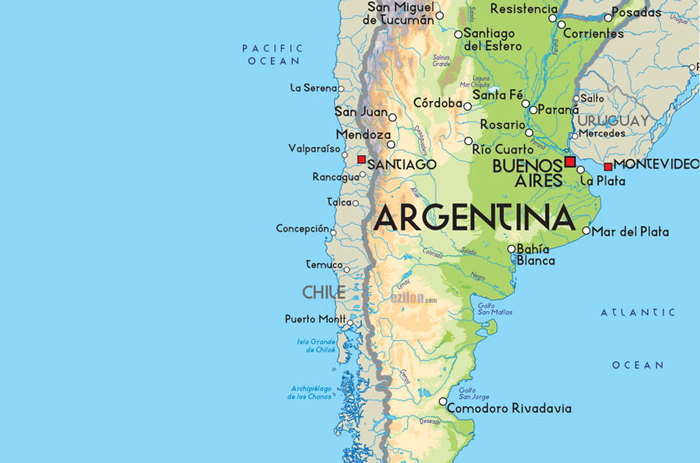 Why Argentina Authentic Food Quest - Argentina map