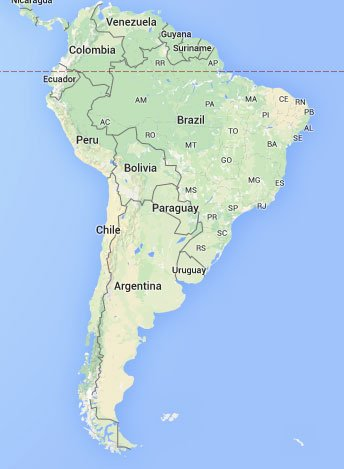 Our travels - South America - AFQ