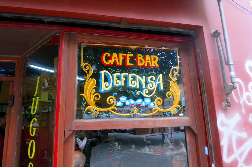 Cafe Bar Defensa Buenos Aires Food Tour Authentic Food Quest