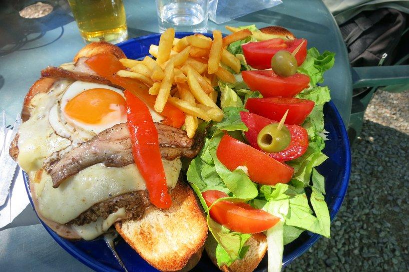 Uruguay Authentic sandwich chivito