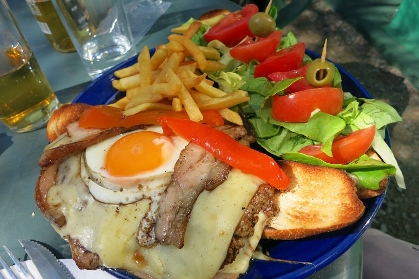Montevideo Authentic Food Chivito Sandwich