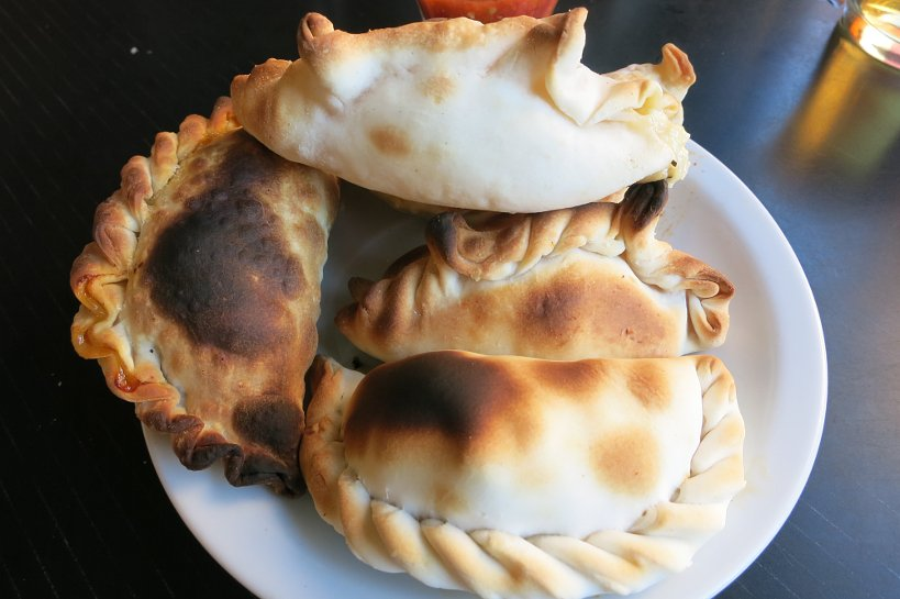 Tantalizing plate of Argentinian empanadas by Authentic Food Quest