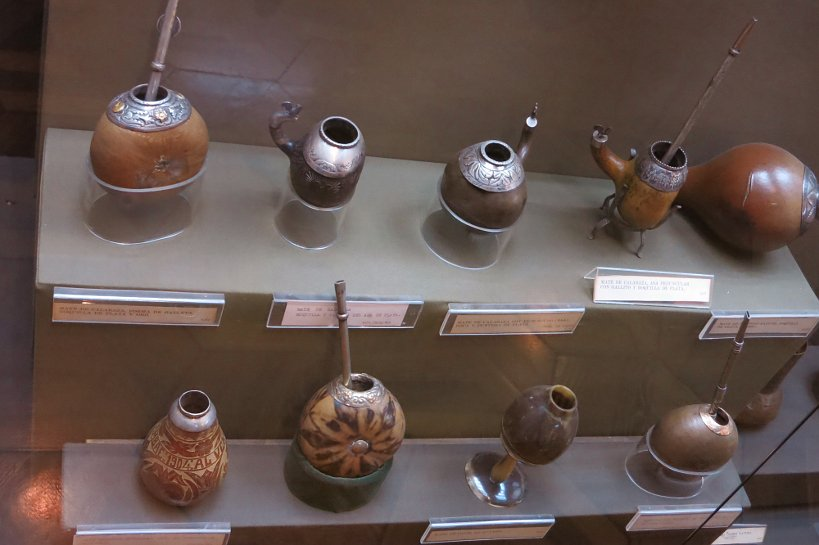 Mate display at museum by Authentic Food Quest
