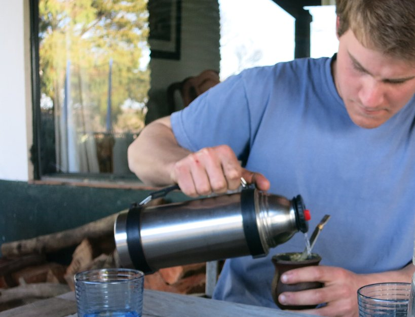Serving flask for drinking mate by Authentic Food Quest