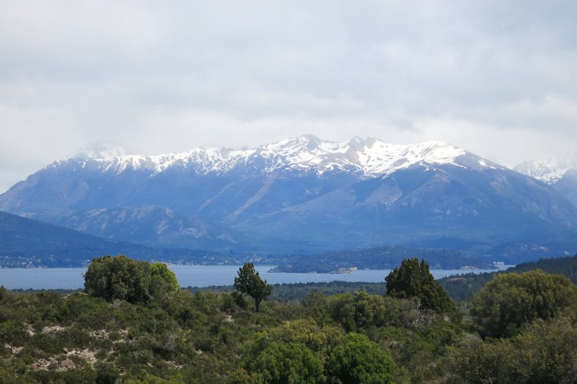 Lake in Bariloche with the Anges in the background by Authentic Food Quest