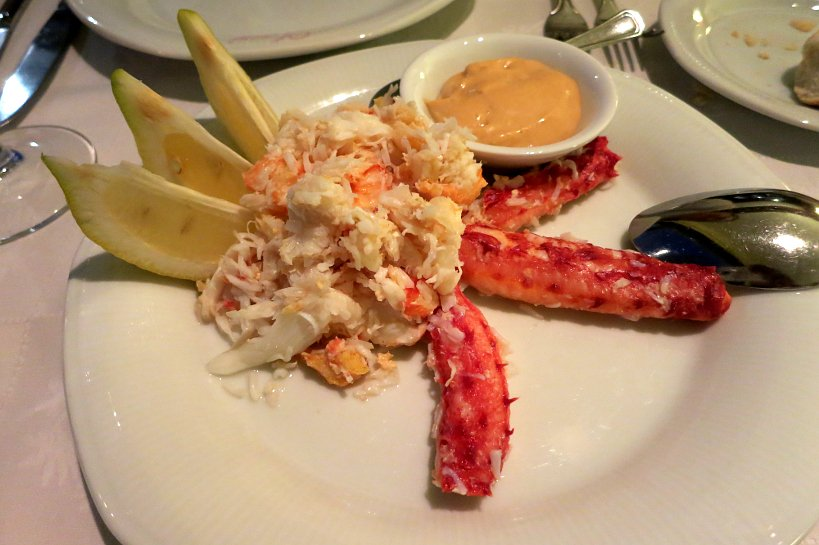 Southern King Crab or Centolla Crab at Kaupe Restaurant in Ushuaia Argentina by Authentic Food Quest