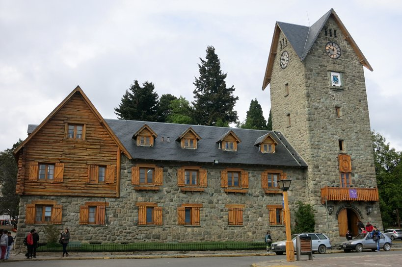 Civic Center in Bariloche for Argentina Chocolate by Authentic Food Quest