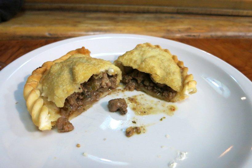 Lamb Empanadas at Familia Weiss Restaurant Bariloche Argentina by Authentic Food Quest