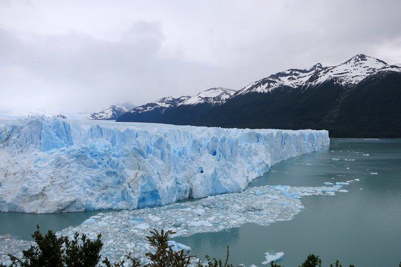 Argentinian food stores near Perito Moreno Glacier, Argentina