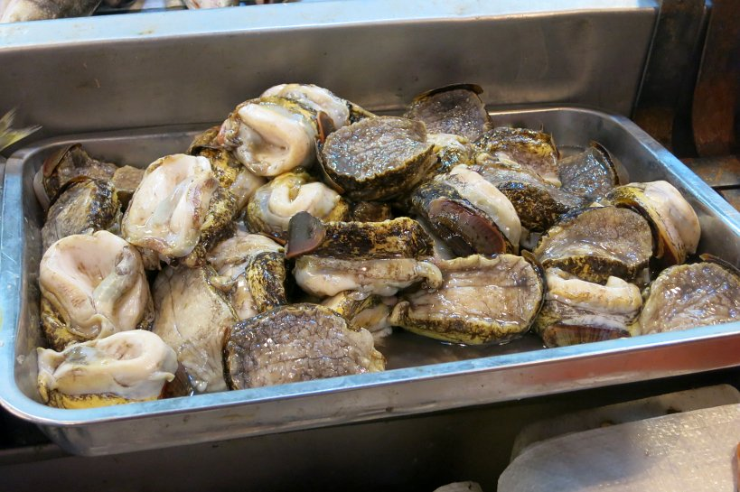 Chilean Seafood Locos Abalone by Authentic Food Quest