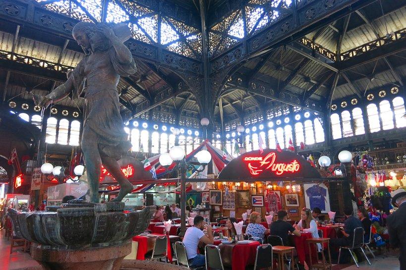 Mercado Central Santiago Inside by Authentic Food Quest