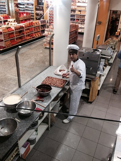 Turista inside for Argentina chocolate by Authentic food Quest