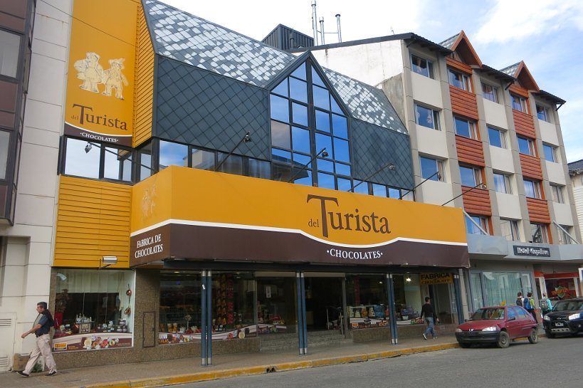 Turista outside by Authentic Food quest for Bariloche Chocolate
