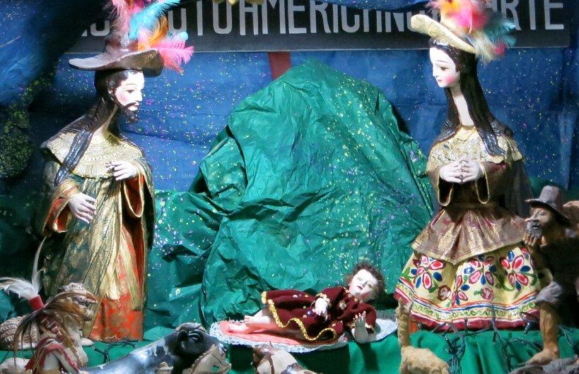 Andean Christmas Jesus