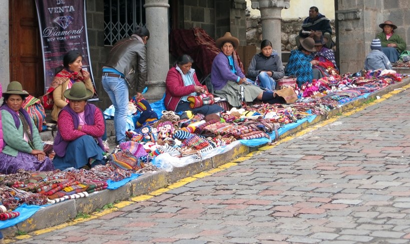 Andean Christmas wares