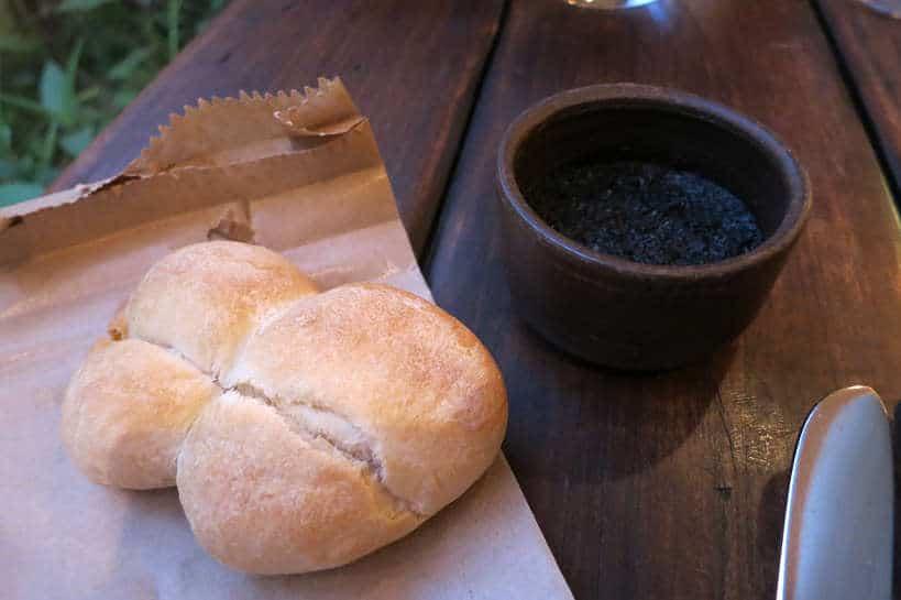 Pebre at Borago restaurant a Santiago