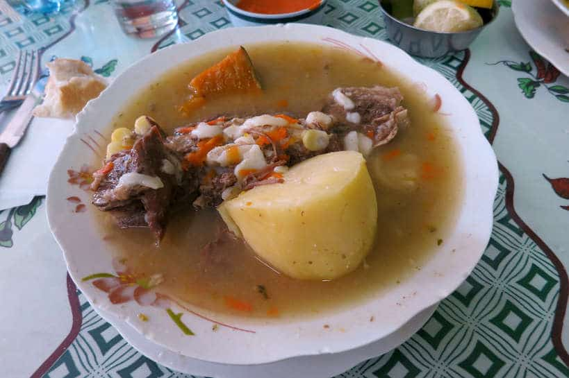 Cazuela Vacuno a popular Chilean dish by Authentic Food Quest