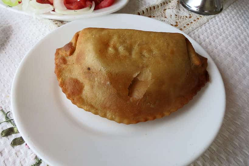 fried seafood Chilean Empanada by AuthenticFoodQuest