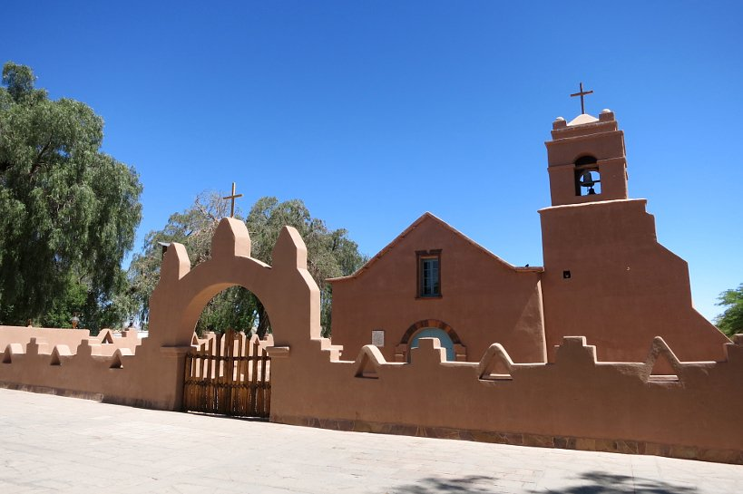 Food of the desert Church of San Pedro de Atacama