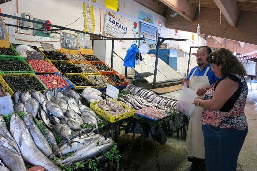 Valparaiso seafood Caleta