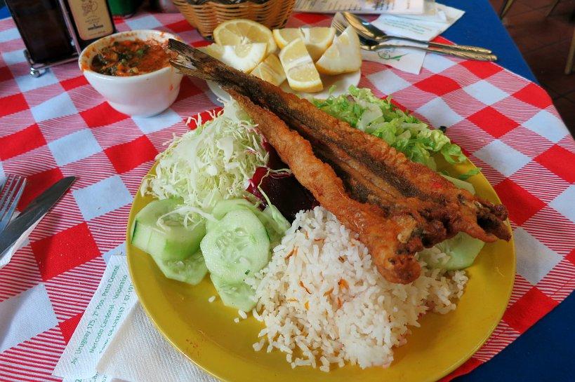Valparaiso seafood merluza