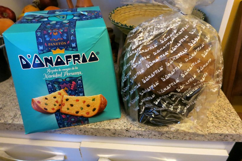 Andean Christmas Panettone or Paneton Peruvian Dessert by Authentic Food Quest