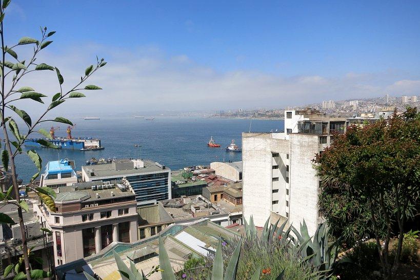 Valparaiso seafood Panorama