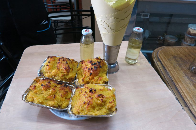 Popular Chilean dishes pastel de Choclo