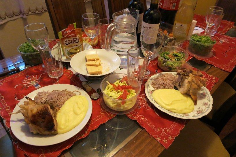 Andean Christmas dinner