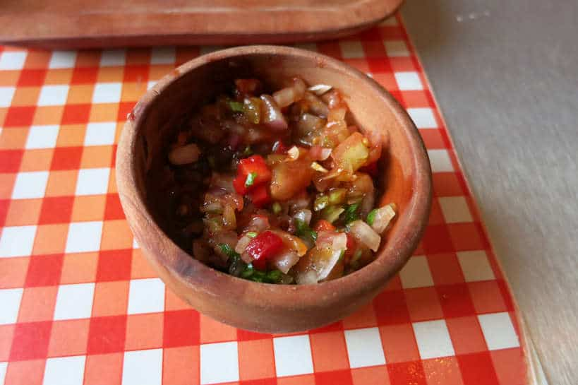 Pebre one of the most popular Chilean foods by Authentic Food Quest