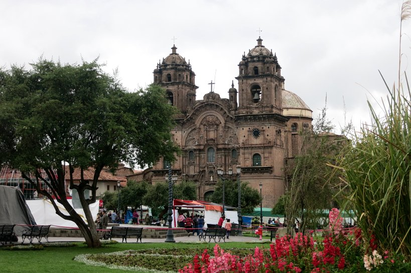 Andean Christmas Plaza de Armas