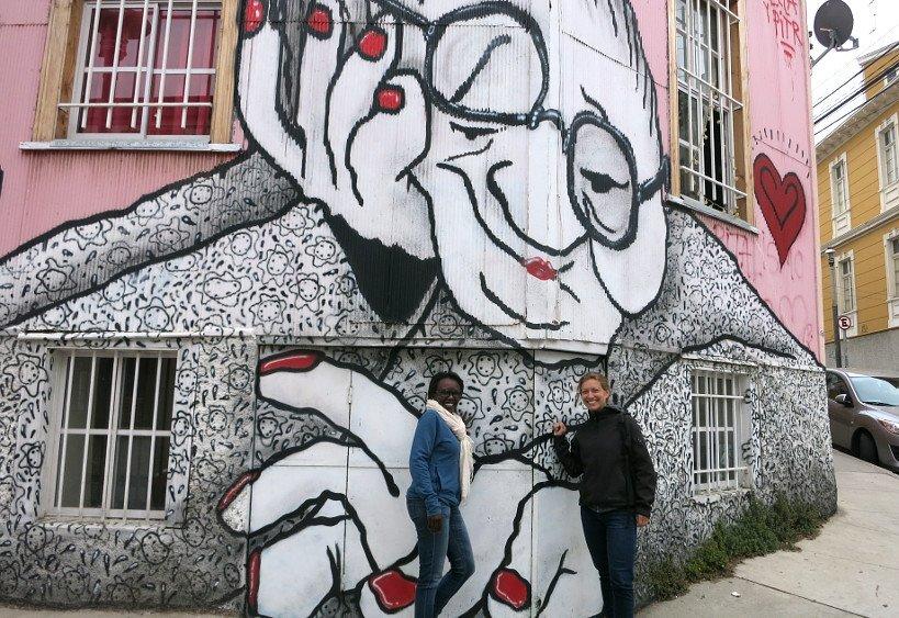 Valparaison Seafood Street Art