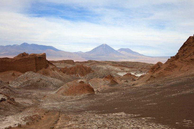 Chilean desert food Valle de la luna