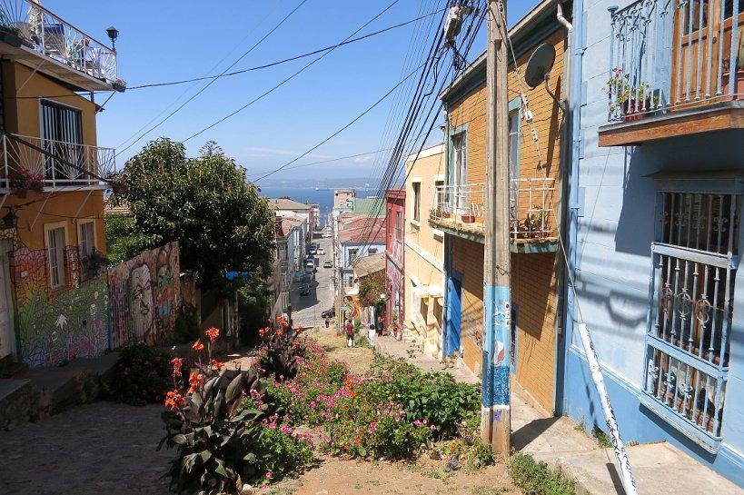 Valparaiso seafood view