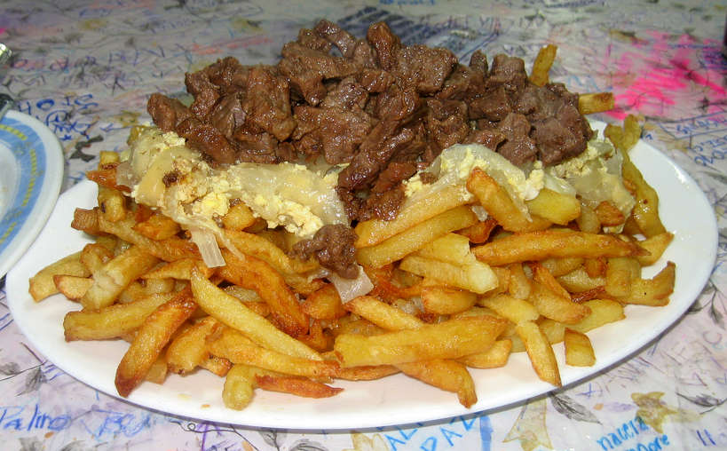 Chorillana (photo credit: maru14) one of the most popular Chilean dishes Authentic Food Quest