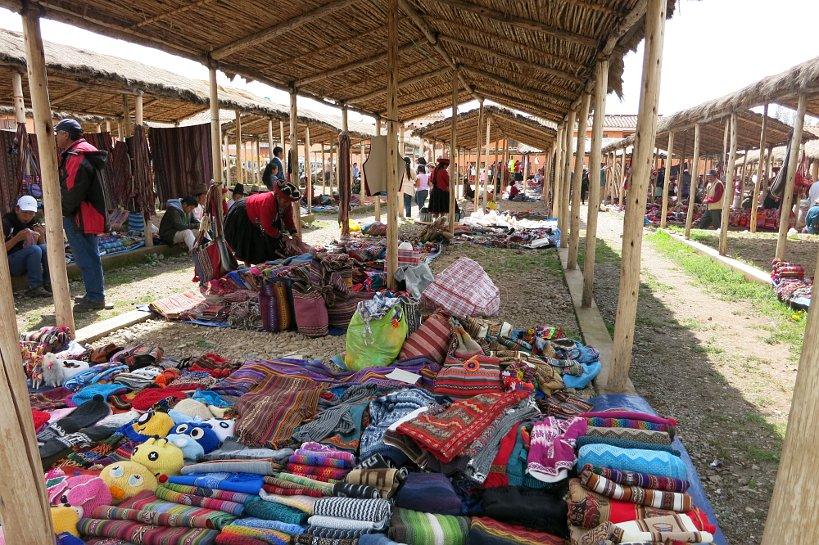 Cusco's market Chinchero