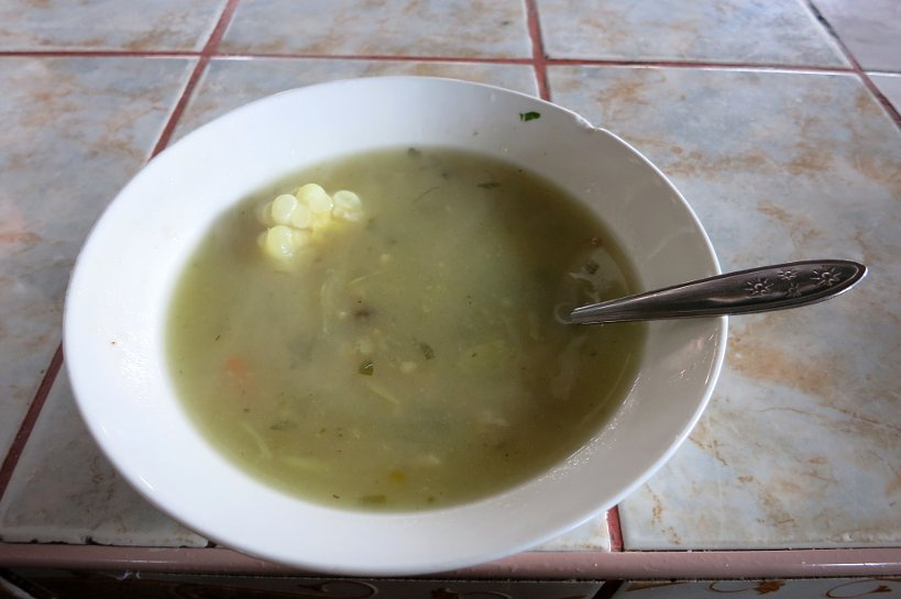 Cusco's market sopa