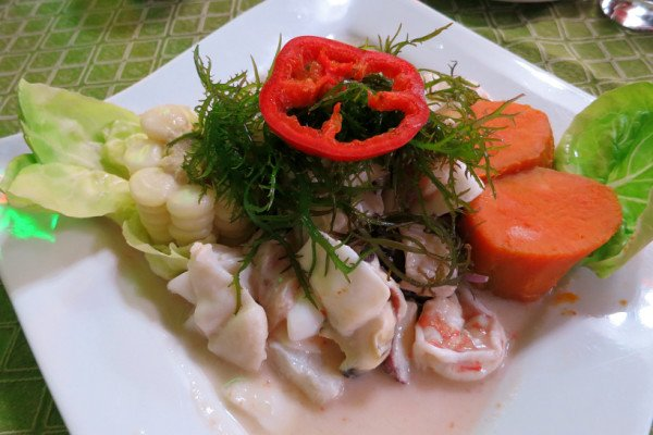 Discovering Ceviche meal