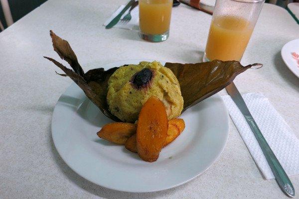 Amazonian food Juane