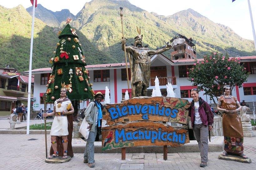 Arrival in Machu Picchu the fulfillment of a dream