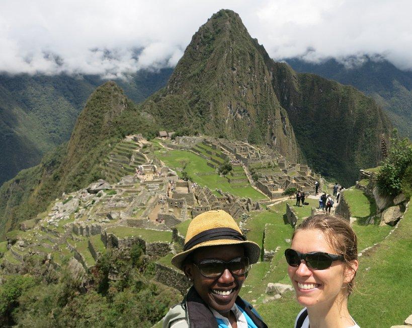 Fulfillment of a dream at Machu Picchu