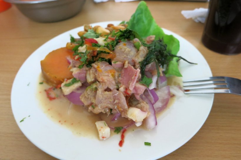 Discovering Ceviche ceviche meal
