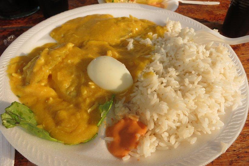 Criollo dishes Aji de Gallina