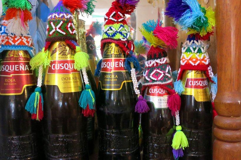 Peruvian drinks cusquena beers