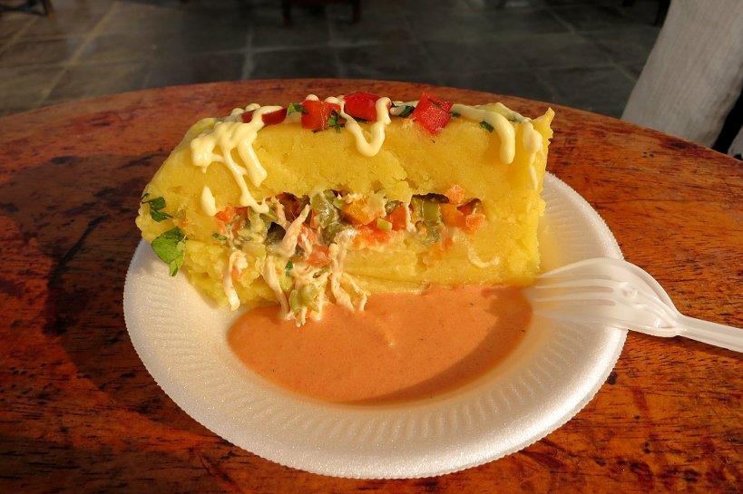 Criollo Dishes causa rellena