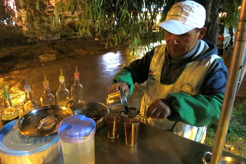 Peruvian drinks emoliente