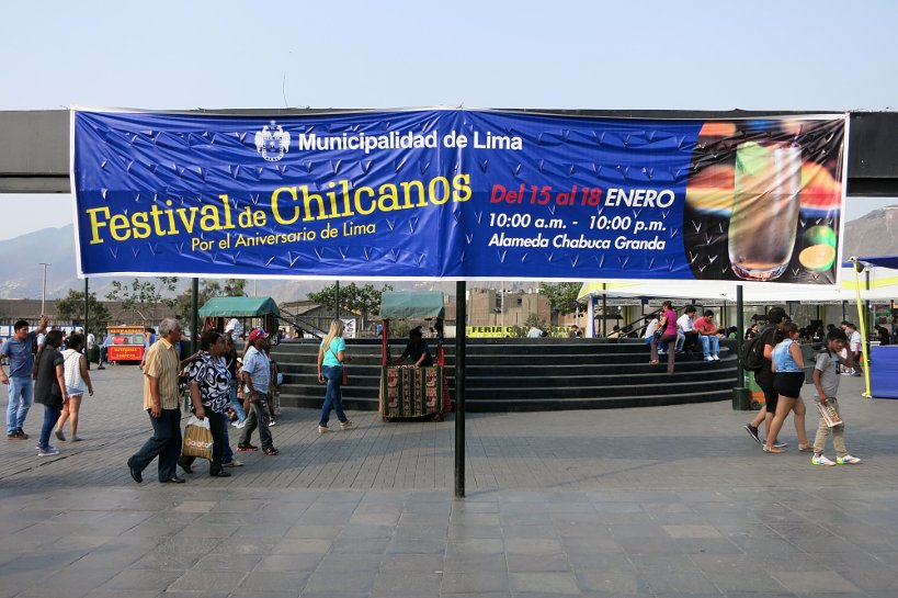 Peruvian drinks chilcanos festival