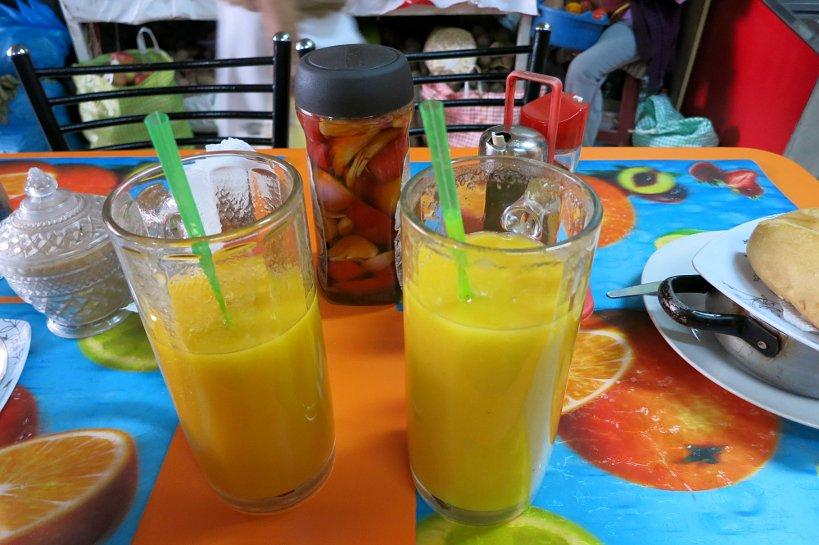 Peruvian drinks juices
