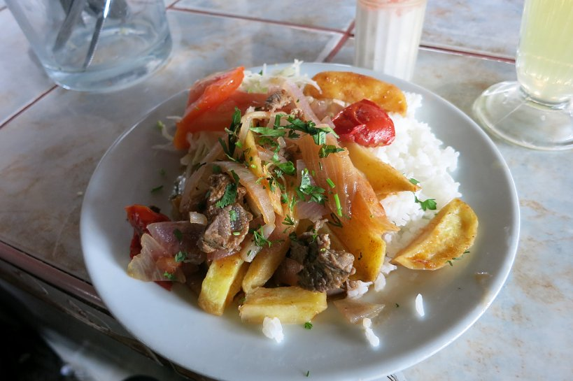 Authentic Food Criollo Dishes lomo saltado AFQ