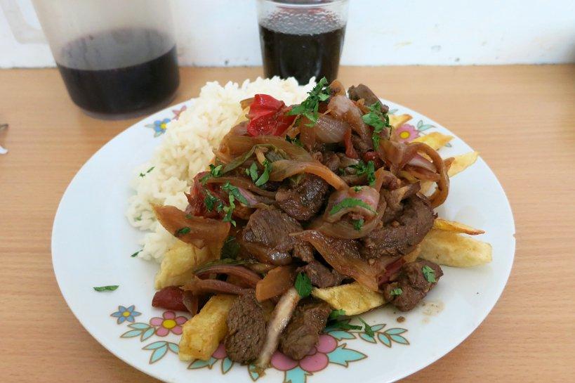 Peru Gastronomy Lomo Saltado by Authentic Food Quest
